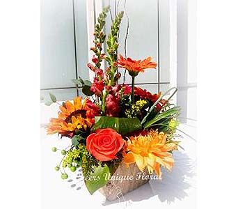 Autumn Delight in Lake Forest CA, Cheers Floral Creations
