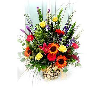 Deep Autumn Bouquet in Lake Forest CA, Cheers Floral Creations