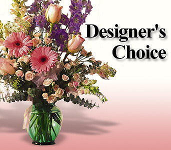 Designer's Choice Vase Arrangement in Bakersfield CA, White Oaks Florist