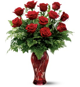 Teleflora's 12 Kisses Bouquet in Daphne AL, Flowers ETC & Cafe