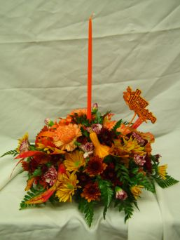 Thanksgiving Centerpiece Special in Sayville NY, Sayville Flowers Inc