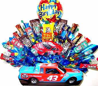 CB135 ''Race Day'' Candy Bouquet in Oklahoma City OK, Array of Flowers & Gifts