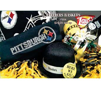 Go Steelers! in McKees Rocks PA, Muzik's Floral & Gifts