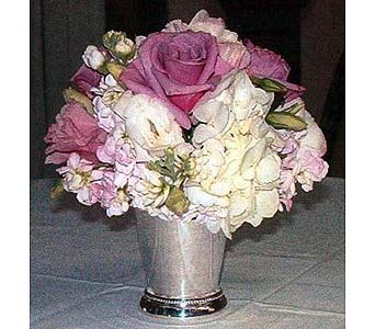 Blue Bird Roses & Hydrangea Julep Cup in Tuckahoe NJ, Enchanting Florist & Gift Shop