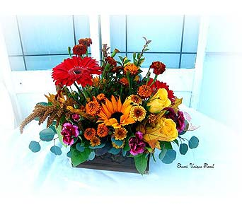 Thanksgiving Centerpiece #5 in Lake Forest CA, Cheers Floral Creations
