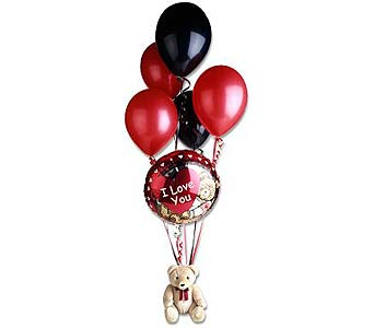 Love You Balloon Bear Bouquet in Ferndale MI, Blumz...by JRDesigns