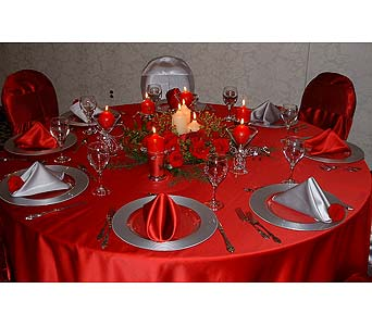 Holiday Tablescapes in Ferndale MI, Blumz...by JRDesigns