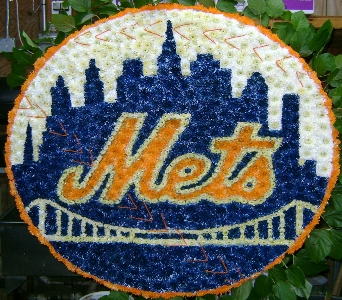 Let's Go Mets City Scene in Brooklyn NY, David Shannon Florist & Nursery