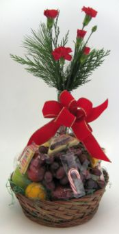 CHRISTMAS FRUIT BASKET in Salisbury MD, Kitty's Flowers