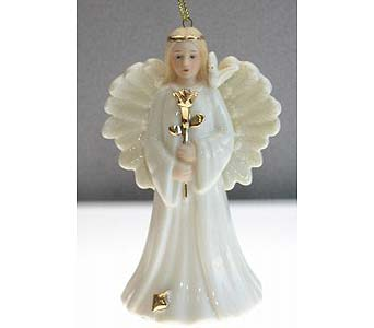 Remembrance Angel Ornament in Concordia KS, The Flower Gallery
