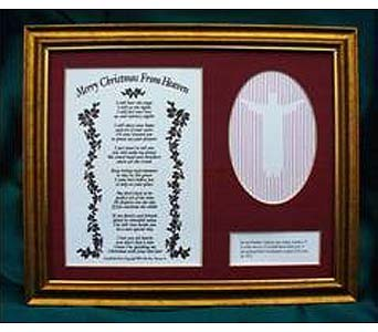 Framed Remembrance Version in Concordia KS, The Flower Gallery