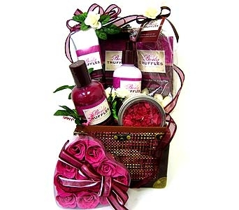 GB225 ''Body Truffles'' Bath & Body Gift Set in Oklahoma City OK, Array of Flowers & Gifts