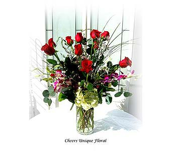 Forever Romance in Lake Forest CA, Cheers Floral Creations