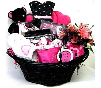 GB239 ''Razzle Dazzle'' Bath & Body Gift Basket in Oklahoma City OK, Array of Flowers & Gifts