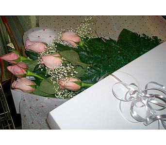 7 Pink Roses in Markham ON, Freshland Flowers