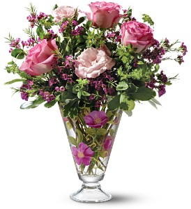 Teleflora's Wild Rose Bouquet in Orlando FL, University Floral & Gift Shoppe