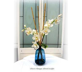 Silk Cymbidium Orchid Series 1 in Lake Forest CA, Cheers Floral Creations