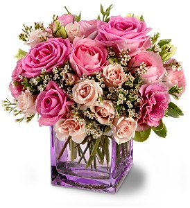 Teleflora's Rose Confection in Bakersfield CA, White Oaks Florist