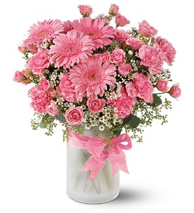 Purely Pinks in Friendswood TX, Lary's Florist & Designs LLC