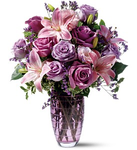Teleflora's Etched with Love - Deluxe in Chelsea MI, Chelsea Village Flowers