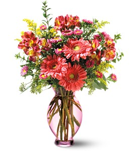 Teleflora's Pink Inspiration Bouquet in Isanti MN, Elaine's Flowers & Gifts