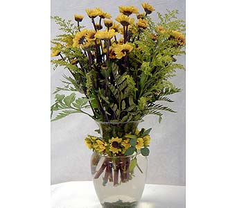 A VASE OF SUNSHINE in Mountain Top PA, Barry's Floral Shop, Inc.