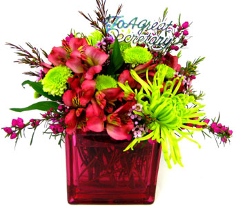 FF86 ''Magnificent Blooms'' Secretaries Arrangement in Oklahoma City OK, Array of Flowers & Gifts