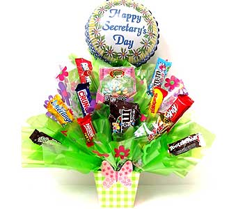 SECCB150 Many Thanks Candy Bouquet in Oklahoma City OK, Array of Flowers & Gifts