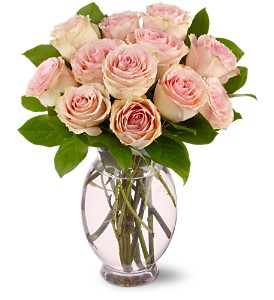 Teleflora's Delicate Dozen in Lenexa KS, Eden Floral and Events