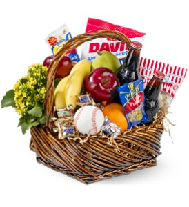 Home Run Basket in New York NY, New York Best Florist