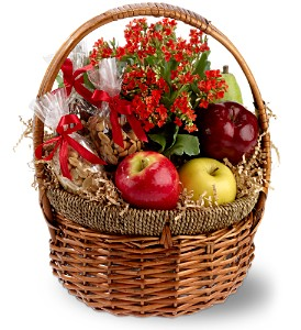 Health Nut Basket in Wolfeboro Falls NH, Linda's Flowers & Plants