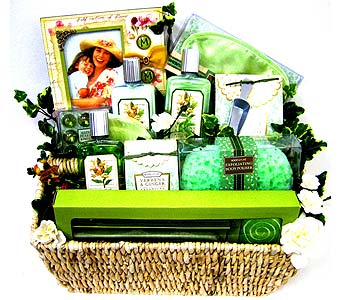 GB251 ''Captured Moments'' Gift Basket in Oklahoma City OK, Array of Flowers & Gifts