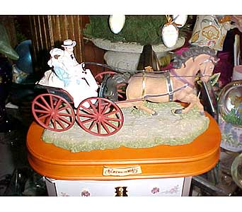 Gone With the Wind Musical Carriage in Gautier MS, Flower Patch Florist & Gifts