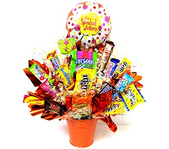MDCB149 ''Sweeter Than Ever'' Candy Bouquet in Oklahoma City OK, Array of Flowers & Gifts