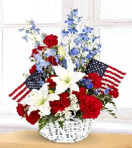 american glory basket in Kokomo IN, Bowden Flowers & Gifts