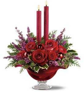 Teleflora's Crimson Christmas Bouquet in Washington DC, Capitol Florist