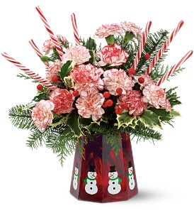 Teleflora's Let It Snowman in Mobile AL, Cleveland the Florist