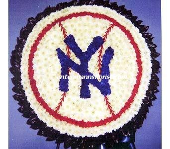 NY YANKEES BASEBALL in Jersey City NJ, Entenmann's Florist