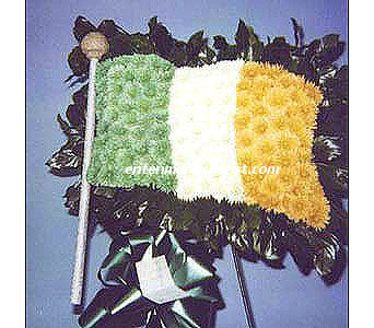 Irish Flag in Jersey City NJ, Entenmann's Florist