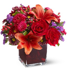 Teleflora's Autumn Grace in Aberdeen NJ, Flowers By Gina