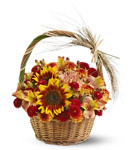 Harvest Basket in Houston TX, G Johnsons Floral Images