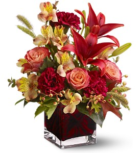 Teleflora's Indian Summer in Willow Park TX, A Wild Orchid Florist