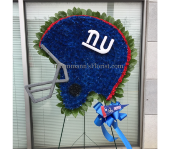 Giants Helmet in Jersey City NJ, Entenmann's Florist