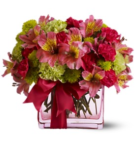 Teleflora's Cheers To You in Warwick RI, Yard Works Floral, Gift & Garden