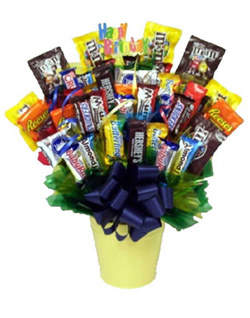 CANDY BOUQUET in San Angelo TX, Bouquets Unique Florist