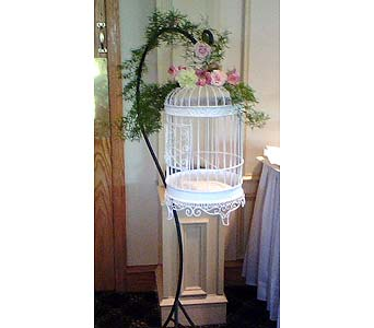 Bird Cage & Stand in Tuckahoe NJ, Enchanting Florist & Gift Shop