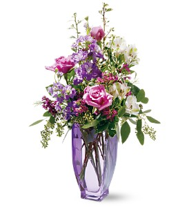 Teleflora's Amethyst Morning Bouquet in Greenfield IN, Penny's Florist Shop, Inc.