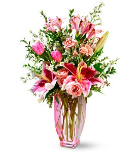 Teleflora's Pink Sapphire Bouquet in Philadelphia PA, Young's Florist