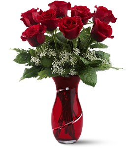 Teleflora's Diamonds & Roses in San Clemente CA, Beach City Florist