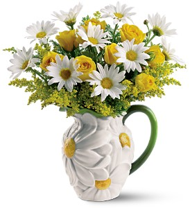 Teleflora's Darling Daisy Bouquet in East Dundee IL, Everything Floral